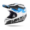 Casco Leatt Dbx 5.0 Composite V12 negro / azul / blanco