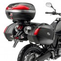 Jgo. Soportes / Herrajes baul central Givi Yamaha Xt 660Z Teneré 2008 - 2015 para baules Monokey