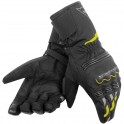 Guantes Dainese Tempest D-Dry Long negro / amarillo fluor