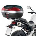 Herraje / anclaje / soporte baul central Givi Yamaha Mt 03 600 2006 - 2014