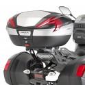 Jgo. Soportes / Herrajes baul central Givi Yamaha Mt-09 Tracer 2015 - 2017