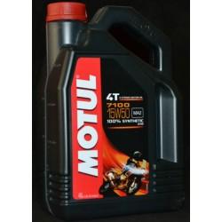 4L. Aceite Motul 7100 4T 15W 50 100% sintetico