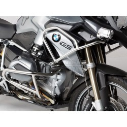 DEFENSAS SUPERIORES DE MOTOR SW-MOTECH BMW R 1200 GS LC 2013 - INOX.