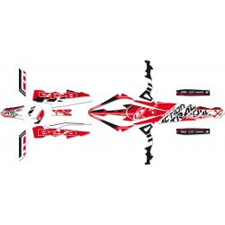 KIT DE ADHESIVOS BLACKBIRD RACING TRACTION BETA EVO 250-300 2009-2012
