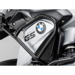 DEFENSAS SUPERIORES DE MOTOR SW-MOTECH BMW R 1200 GS LC 2013 - NEGRA