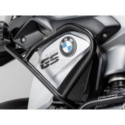 DEFENSAS SUPERIORES DE MOTOR SW-MOTECH BMW R 1200 GS LC 2013 - NEGRA