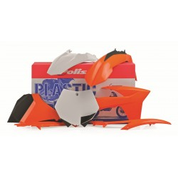 KIT PLASTICOS POLISPORT KTM 2011 - 2012 COLOR ORIGINAL