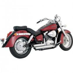 Sistema completo de escapes Vance & Hines Honda Vt 750 2004 - 2008 Shortshots