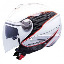 CASCO MT CITY ELEVEN SV DYNAMIC BLANCO / ROJO -