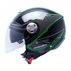 CASCO MT CITY ELEVEN SV DYNAMIC NEGRO / VERDE -