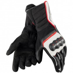 GUANTES DAINESE AIR FAST NEGRO / BLANCO / ROJO -