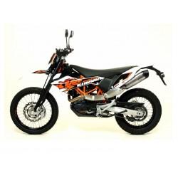 Silencioso Leovince Ducati Scrambler 800 Gp Duals acero Homologado