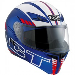 CASCO AGV COMPACT SEATTLE MATE AZUL / BLANCO / ROJO