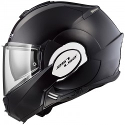 CASCO LS2 FF399 VALIANT NEGRO BRILLO -