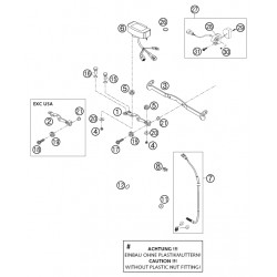 CABLE CUENTAKILOMETROS HONDA VISION 75 -