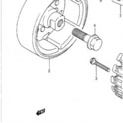 Rotor / Estator para Volante de Inercia Suzuki Dl 1000 V-Strom 2003 - 2006 -