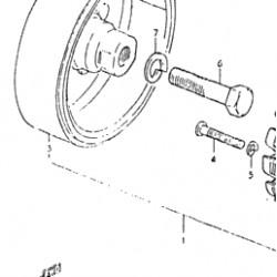 Rotor / Estator para Volante de Inercia Suzuki Gs 500 -