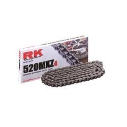 Cadena abierta sin retenes Rk 520 Mxz4 112 eslabones color negra *-