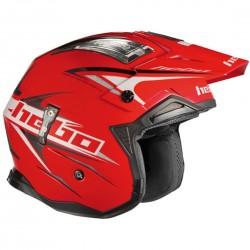 Casco Hebo Zone 04 Extreme II rojo -
