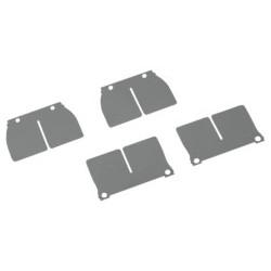 Jgo. Laminas de carbono para cajas V-Force 2 -