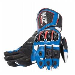 GUANTES RST TRACTECH RACE AZUL -