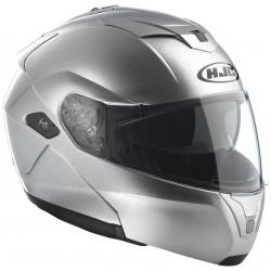 Casco Hjc Sy-Max III Crystal plata