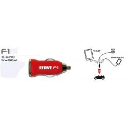 ADAPTADOR TOMA DE MECHERO FERVE USB *