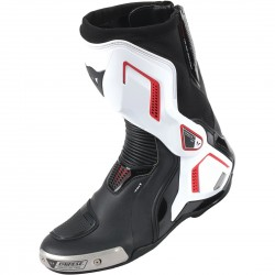 BOTAS DAINESE TORQUE OUT D1 BLACK / WHITE / LAVA RED