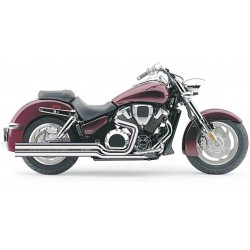 Jgo. Escapes completos Vance & Hines Honda Vtx 1800 R Big Shots -