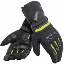 Guantes Dainese Scout 2 Gore-Tex negro / amarillo fluor -