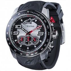 Reloj Alpinestars Tech Chrono Piel Negro / Rojo -