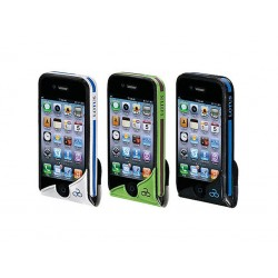 FUNDA PARA MOVIL IPHONE 100% IMPERMEABLE BICI LOTUS NEGRA