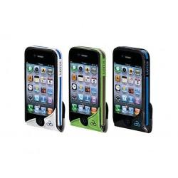 FUNDA PARA MOVIL IPHONE 100% IMPERMEABLE BICI LOTUS VERDE