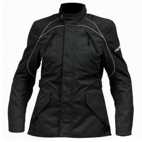 CHAQUETA TEXTIL IMPERMEABLE LS2 BUTTERFLY LADY NEGRA