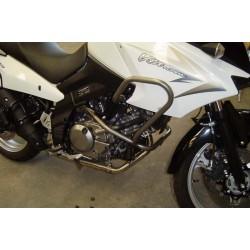 DEFENSAS DE MOTOR PUIG SUZUKI DL 650 V-STROM 2004 - 2012 NEGRA