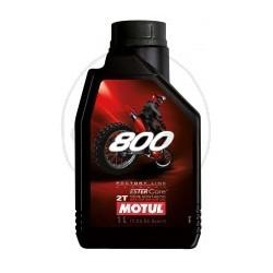 1L. Aceite Motul 800 2T Factory Line Off Road Sintetico
