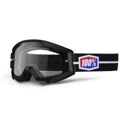 Gafas MX 100% Strata Motosuit Negro