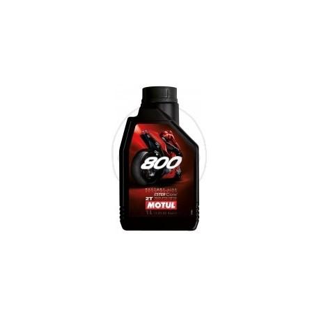 1L. Aceite Motul 800 2T Factory Line Road Racing Sintetico