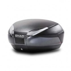 Baul Shad SH48 Gris Oscuro Negro