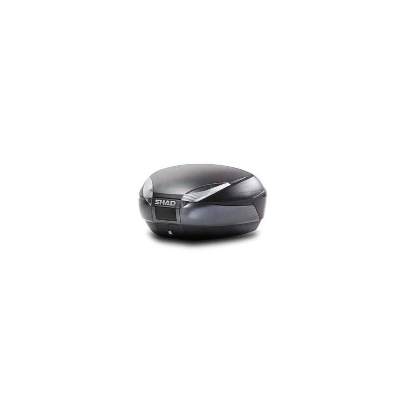 5bcdb03c Baul Shad SH48 Gris Oscuro Negro - Punto Moto La Carlota