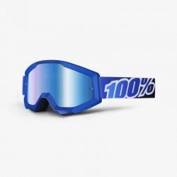 Gafas Mx 100% Strata Blue Lagoon cristal espejo