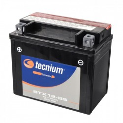 Batería Tecnium YTX12-BS sellada sin mantenimiento