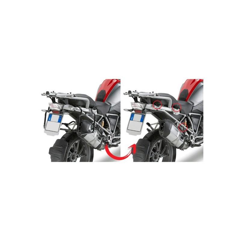 de675a99 HERRAJES / SOPORTES MALETAS LATERALES GIVI MONOKEY BMW F 650 / 700 / 800 GS  2008. Loading zoom