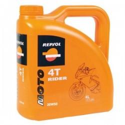 4L. ACEITE REPSOL MOTO RIDER 4T 20W 50
