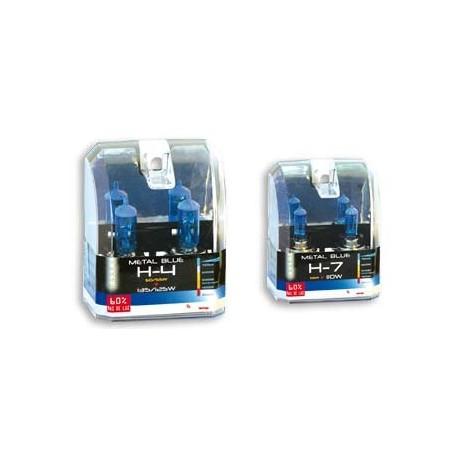 JGO. 2 LAMPARAS KRAWEHL H-7 METAL BLUE