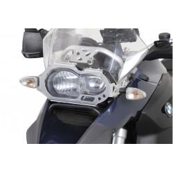 PROTECTOR DE FARO SW-MOTECH BMW R 1200 GS / GSA (04-10) TRANSPARENTE