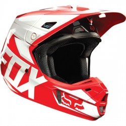 CASCO FOX V2 RACE 2015 ROJO