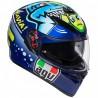 Casco Agv K-3 Sv Pinlock Rossi Misano 2014 -