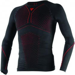 CAMISEA TERMICA DAINESE D-CORE THERMO LS NEGRO / ROJO