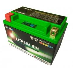 Bateria Ion litio V Lithium YTX9-BS con indicador leds de carga